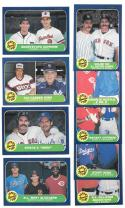 1986 Fleer - 9 Combo lot  (Players from different teams)
