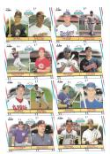1988 Fleer - 8 Card Major League Prospect Lot (Players from different teams)