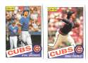 1985 O-Pee-Chee (OPC) - CHICAGO CUBS Team Set