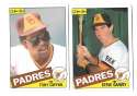 1985 O-Pee-Chee (OPC) - SAN DIEGO PADRES Team Set