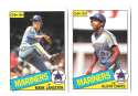 1985 O-Pee-Chee (OPC) - SEATTLE MARINERS Team Set