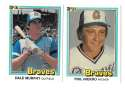1981 DONRUSS - ATLANTA BRAVES Team Set