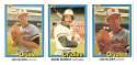 1981 DONRUSS - BALTIMORE ORIOLES Team Set