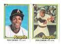 1981 DONRUSS - CALIFORNIA ANGELS Team Set