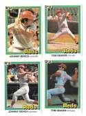 1981 DONRUSS - CINCINNATI REDS Team Set