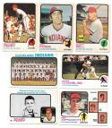 1973 O-Pee-Chee (OPC) VG-EX+ CLEVELAND INDIANS Team Set