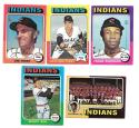 1975 Topps EX CLEVELAND INDIANS Team Set