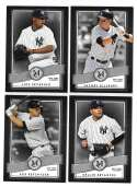 2016 Topps Museum Collection - NEW YORK YANKEES Team Set