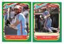 1987 Fleer Sticker - MONTREAL EXPOS Team Set
