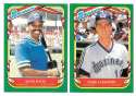 1987 Fleer Sticker - SEATTLE MARINERS Team Set