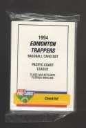 1994 ProCards / Fleer Team Set - Edmonton Trappers (Marlins)