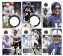 1998 Pinnacle Mint Football Team Set - BALTIMORE RAVENS