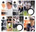 1998 Pinnacle Mint Football Team Set - CHICAGO BEARS