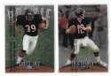 1998 Finest Football Team Set - CHICAGO BEARS
