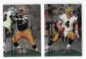 1998 Finest Football Team Set - GREEN BAY PACKERS