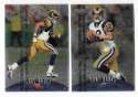 1998 Finest Football Team Set - ST. LOUIS RAMS