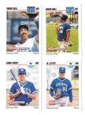 1992 Skybox (Minors) AAA - TORONTO BLUE JAYS Team Set