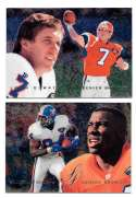 1995 Flair Football Team Set - DENVER BRONCOS