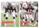 1993 SkyBox Impact Football Team Set - ATLANTA FALCONS