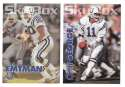 1993 SkyBox Impact Football Team Set - INDIANAPOLIS COLTS