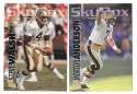 1993 SkyBox Impact Football Team Set - NEW ORLEANS SAINTS