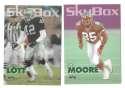 1993 SkyBox Impact Football Team Set - NEW YORK JETS