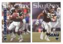 1993 SkyBox Impact Football Team Set - SAN DIEGO CHARGERS