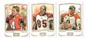 2009 Topps Mayo 1-330 Football Team Set - CINCINNATI BENGALS