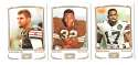 2009 Topps Mayo 1-330 Football Team Set - CLEVELAND BROWNS