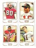 2009 Topps Mayo 1-330 Football Team Set - SAN FRANCISCO 49ERS