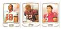 2009 Topps Mayo 1-330 Football Team Set - TAMPA BAY BUCCANEERS
