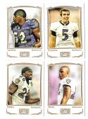 2009 Topps Mayo 1-330 Football Team Set - BALTIMORE RAVENS