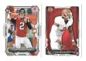 2015 Bowman Football Team Set - ATLANTA FALCONS