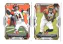 2015 Bowman Football Team Set - CINCINNATI BENGALS