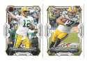 2015 Bowman Football Team Set - GREEN BAY PACKERS