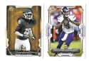 2015 Bowman Football Team Set - MINNESOTA VIKINGS