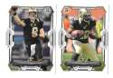 2015 Bowman Football Team Set - NEW ORLEANS SAINTS