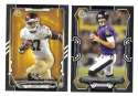 2015 Bowman Black Football Team Set - BALTIMORE RAVENS