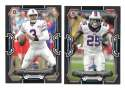 2015 Bowman Black Football Team Set - BUFFALO BILLS