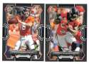 2015 Bowman Black Football Team Set - DENVER BRONCOS