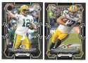 2015 Bowman Black Football Team Set - GREEN BAY PACKERS