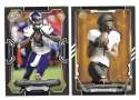 2015 Bowman Black Football Team Set - MINNESOTA VIKINGS