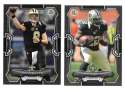 2015 Bowman Black Football Team Set - NEW ORLEANS SAINTS