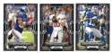 2015 Bowman Black Football Team Set - NEW YORK GIANTS