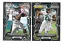 2015 Bowman Black Football Team Set - PHILADELPHIA EAGLES
