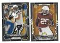 2015 Bowman Black Football Team Set - SAN DIEGO CHARGERS