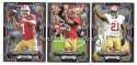 2015 Bowman Black Football Team Set - SAN FRANCISCO 49ERS