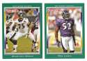 2006 Topps Total Football Team Set - BALTIMORE RAVENS