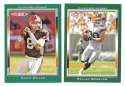 2006 Topps Total Football Team Set - CLEVELAND BROWNS