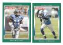 2006 Topps Total Football Team Set - DETROIT LIONS